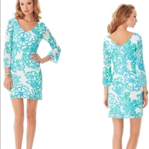Lilly Pulitzer Dresses & Skirts - Lilly Pulitzer Alden Crochet Lace Dress Size Small